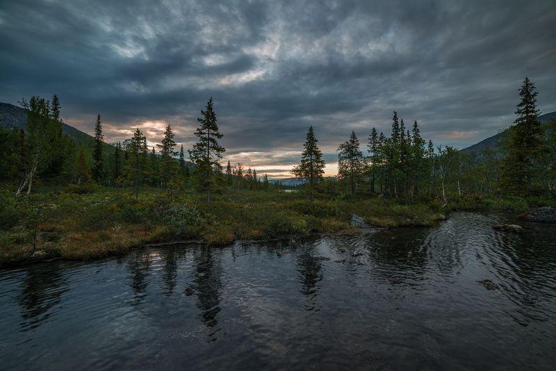 хибины, лето, кольский, заполярье, север, ночь, полярный день, Хибинские тундры.photo preview