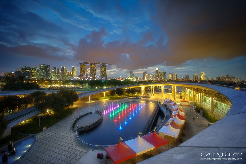 Singapore by nightphoto preview
