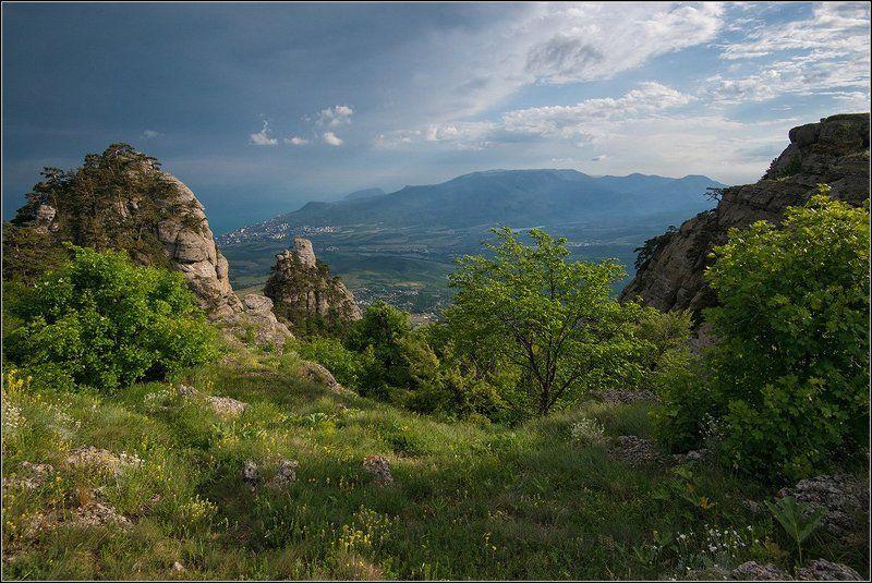 крым, весна, горы, море Крымские зарисовкиphoto preview