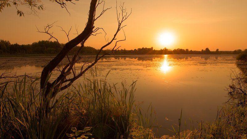 На закате жаркого дня IIphoto preview