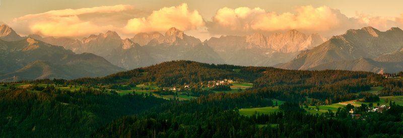 landscape, tatra, mountains, sunrise Tatra mountainsphoto preview