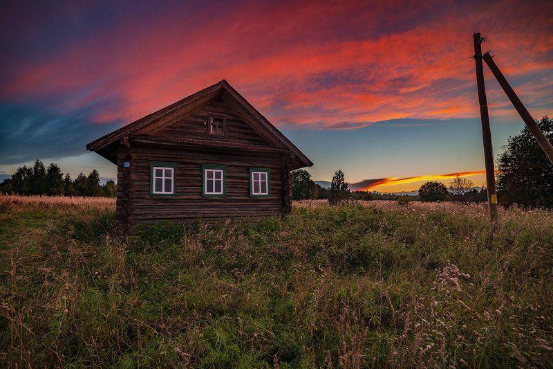 великий двор,вологодчина,кема,север,лето, Красный уголок.photo preview