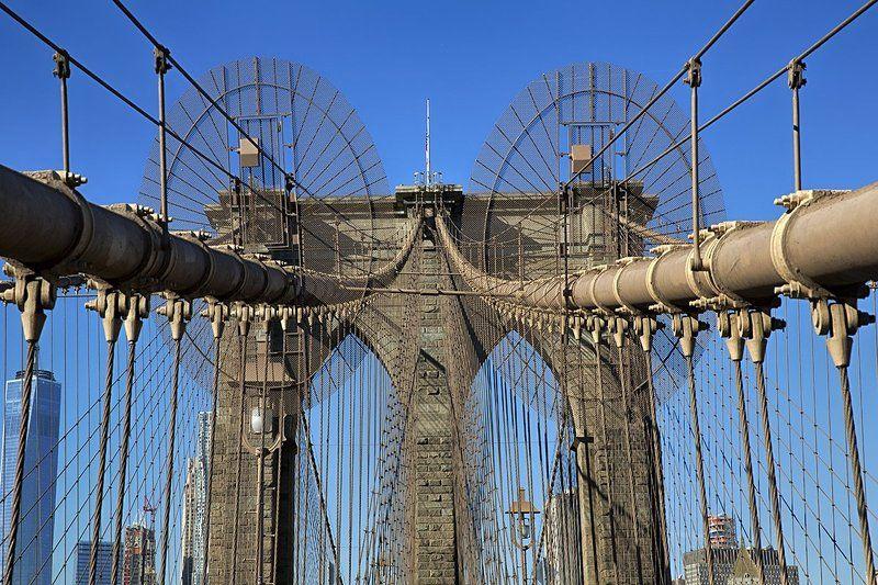 Ванты Бруклинского мостаphoto preview