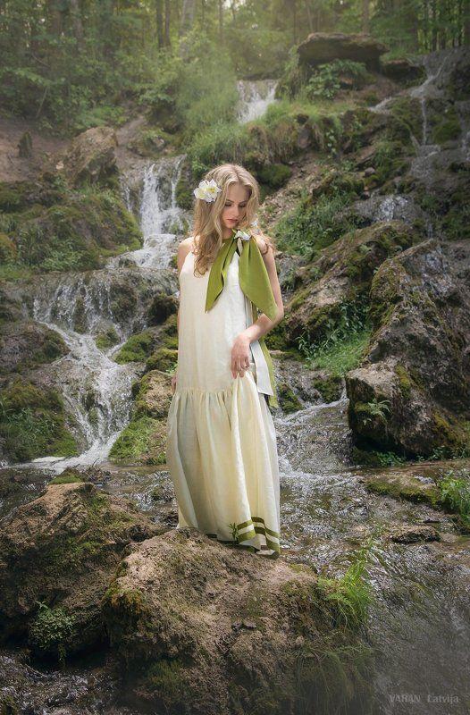 princess of nature, for: varan latvija ,clothing design: varan latvija ,  photographer : aleksei makarenok Princess of nature......................photo preview