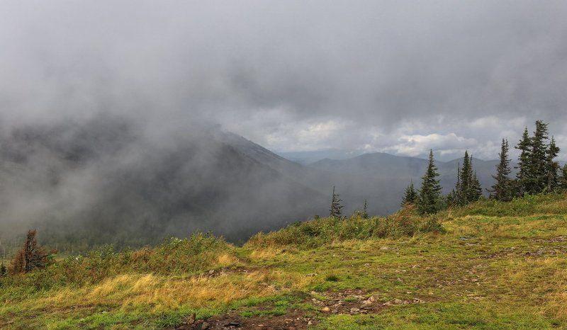 Встают туманы над тайгойphoto preview