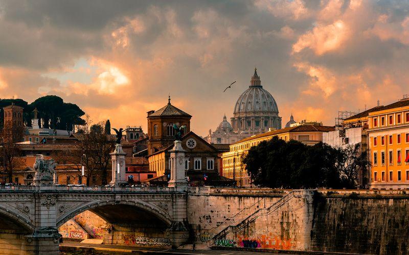 рим, италия, путешествия, город, пейзаж Римphoto preview