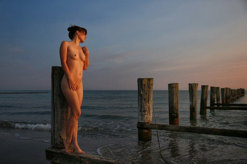 sea, beach, nude, morning Tagesbeginnphoto preview
