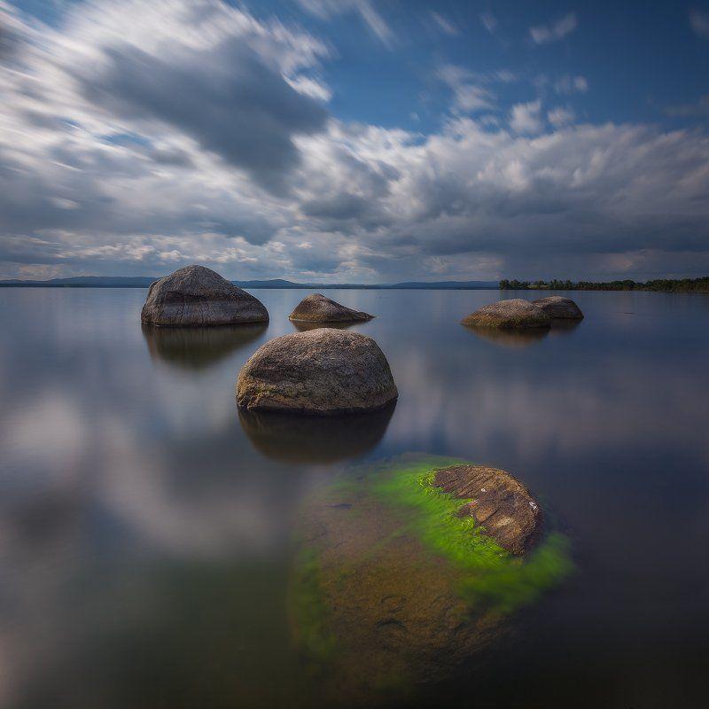 иртяш, озеро, Камни счастьяphoto preview