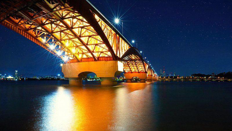 landscape Seongsan Bridge - Сеулphoto preview