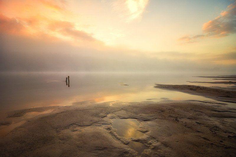 река, закат, солнце, отражение, облака, вечер Эпизод 4 - Я в вечность мысли окуну...photo preview