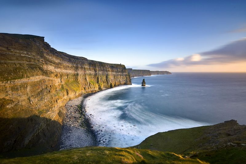 Cliffs , Moher , Sunset , Ireland Cliffs of Moherphoto preview