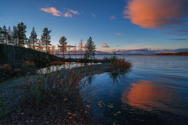 хибины, кольский, заполярье, север, ночь, осень, photo preview