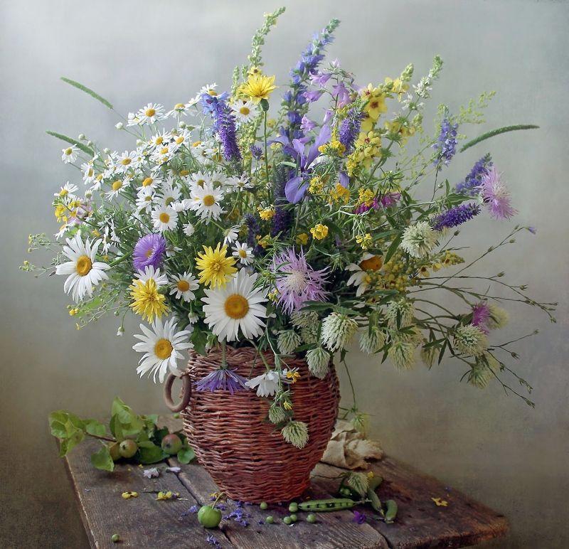 натюрморт, цветы, марина филатова, лето Летоphoto preview