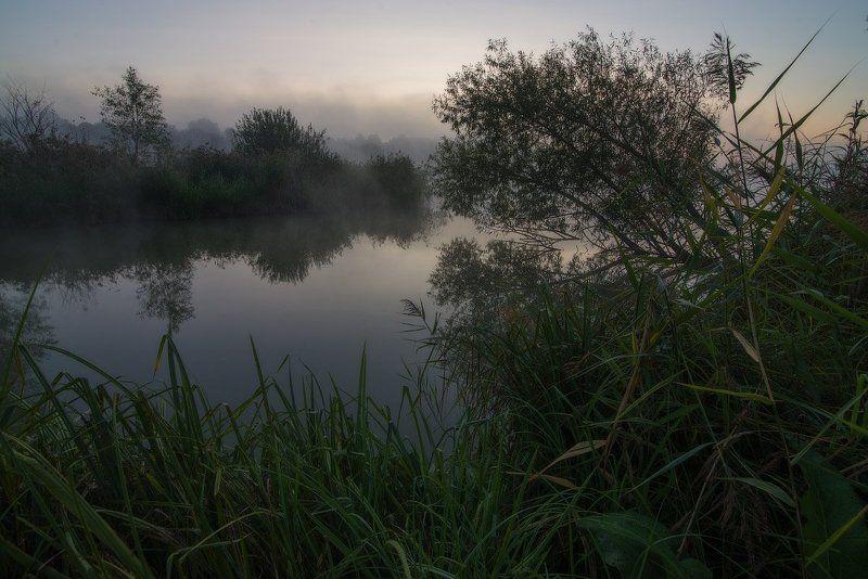 Прохладное осеннее утро...photo preview
