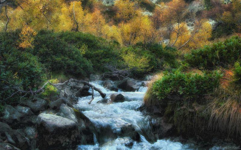 Шум хрустальной воды...photo preview
