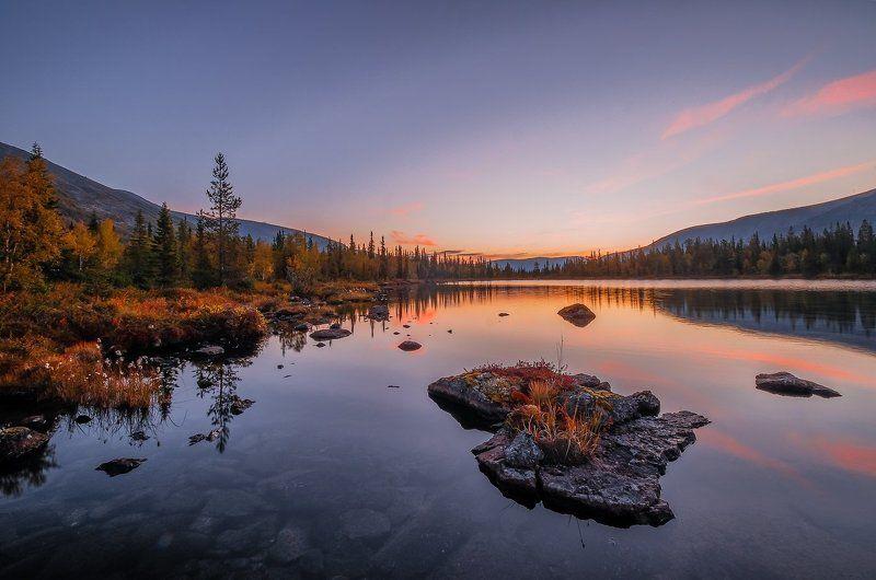 хибины, кольский, заполярье, север, ночь, осень, *photo preview