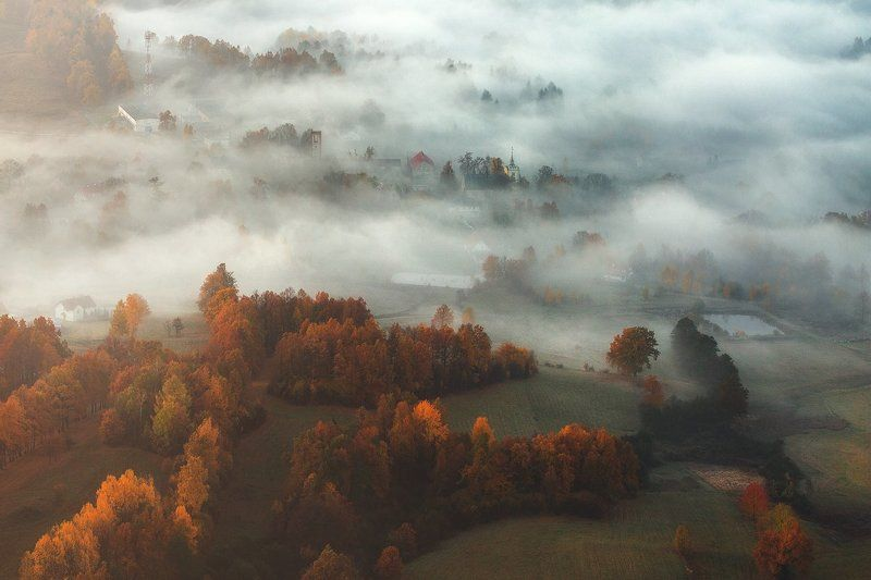 landscape,canon,mist,light,autumn Autumn is A State of Mind IIphoto preview