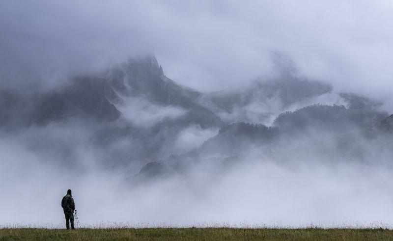 кавказ, хребет, солонцовый, ачешбок, , туман, непогода, , человек кгбз 31 августа В ОЖИДАНИИ МОМЕНТА или ЛОВЕЦ ГОРНЫХ СНОВphoto preview
