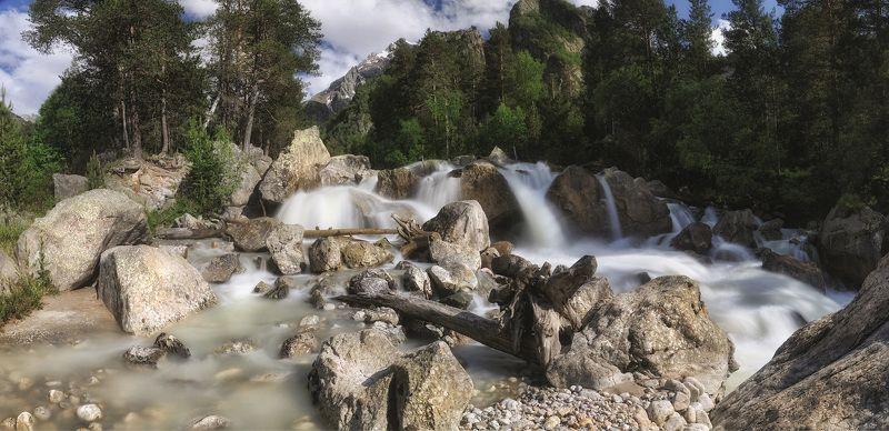 приэльбрусье, адылсу, джантуган, кавказ, водопад О водопаде на Адылсу. Прощание...photo preview