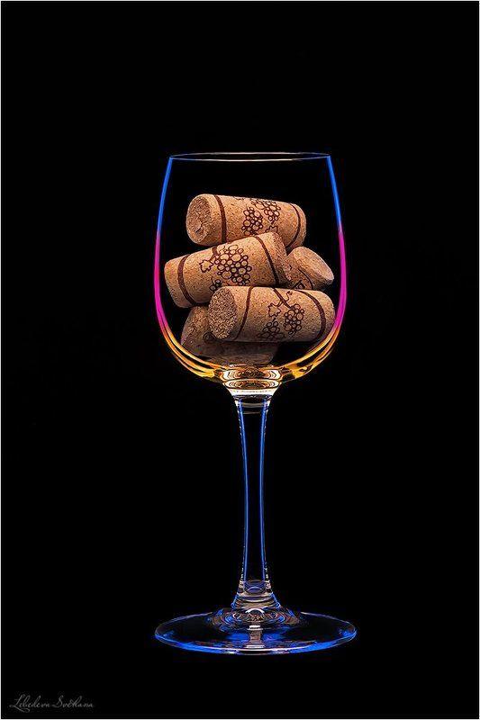 бокалы,свечи,вино,пробки Бокалыphoto preview