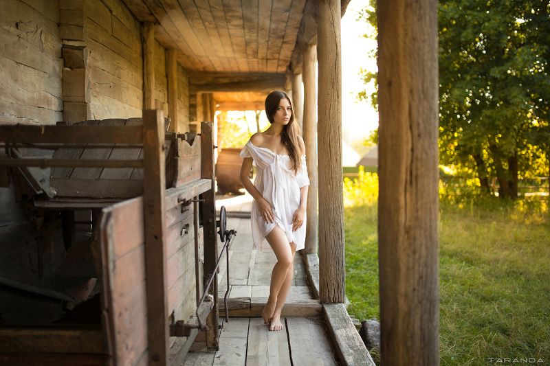 girl, kiev, ukraine, village, portrait, sheer, sweet, sexy, sunset, warm, summer Summer moved onphoto preview