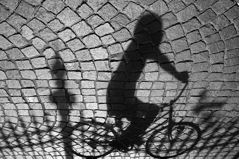 Гонки тени по заборуphoto preview