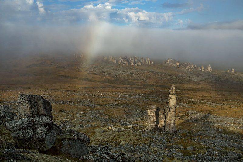 Якутия, Улахан-Сис, останцы, открытие В краю ожившего гранита.photo preview