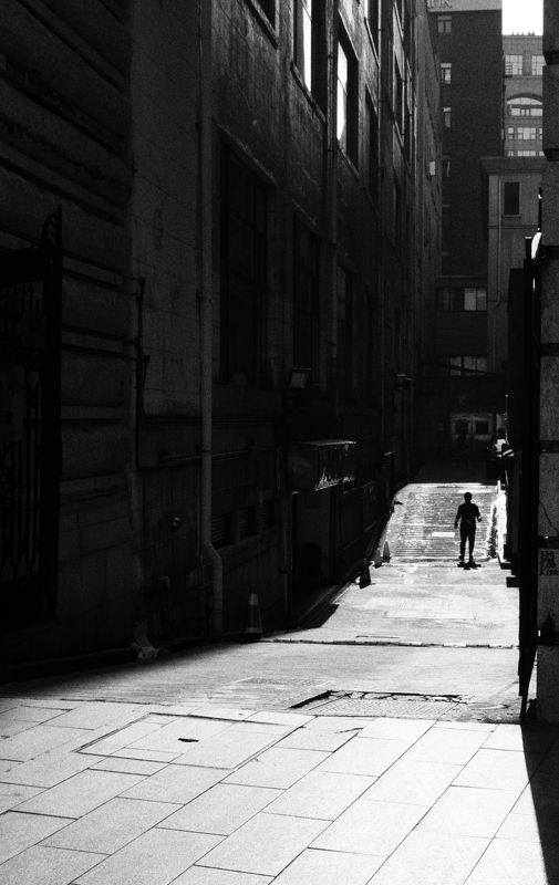 street , street photography, black and white a sunny dayphoto preview