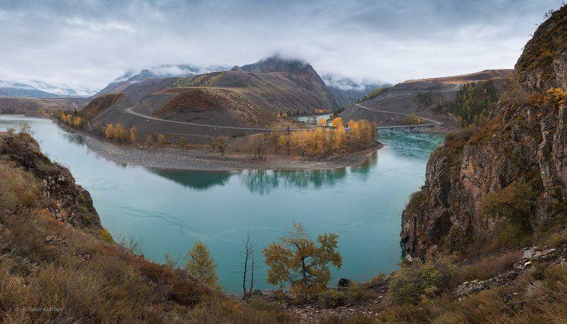 пейзаж, алтай, катунь Катунь...photo preview