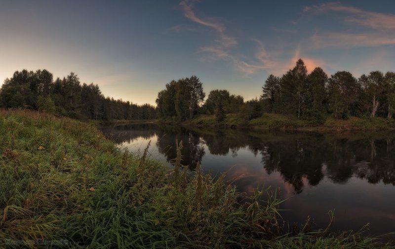 сонный вечер на сонной реке...photo preview