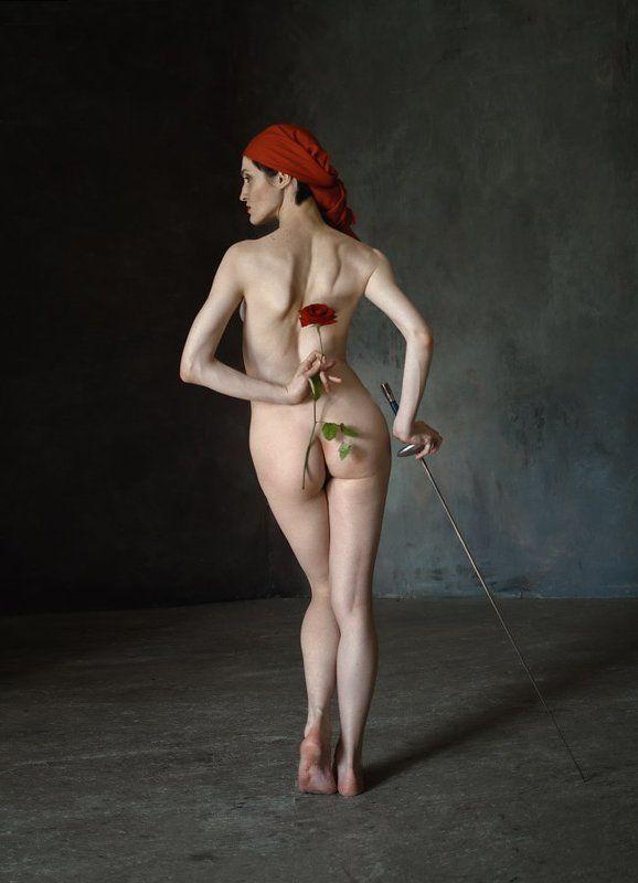 fine art nude Тореадор и роза (по мотивам Бизе)photo preview