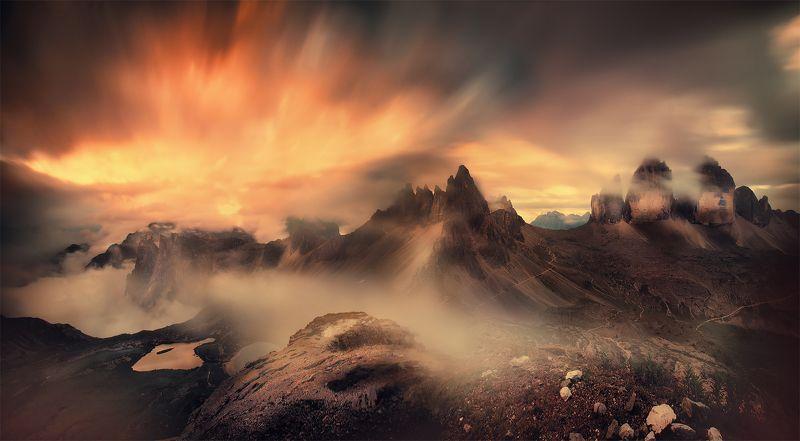 Пламя Доломитовых Альпphoto preview
