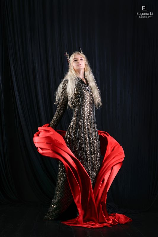 эльф, девушка, косплей Трандуилphoto preview