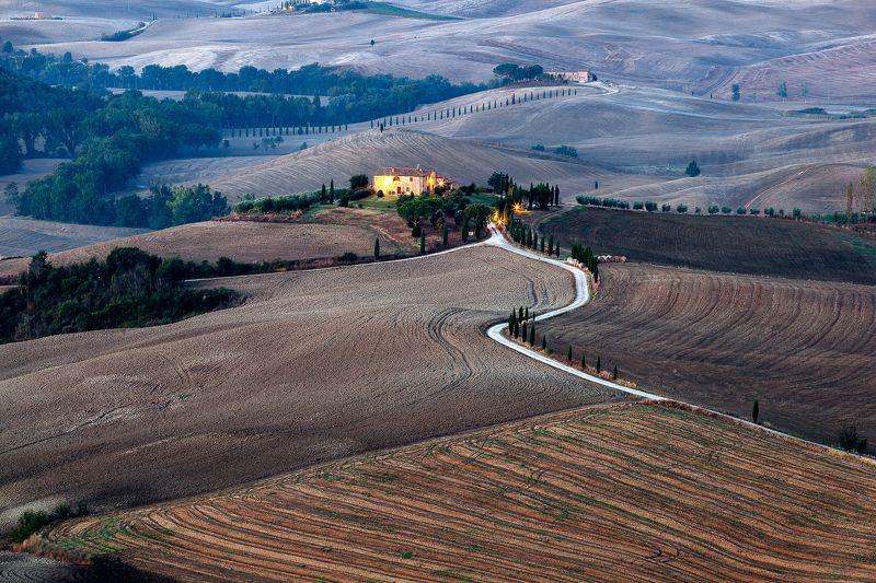 Italy, Tuscany, Pienza, Tuscanyphoto preview