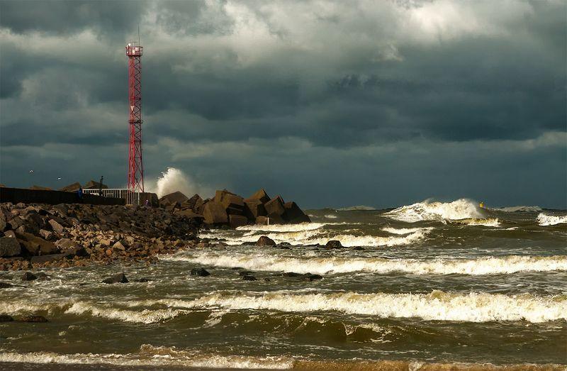 storm,sea,seascape,breakwater September stormphoto preview