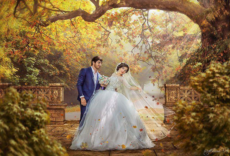 молодожены, свадьба, коллаж, фотоарт, art, wedding, newlyweds, bride, bridegroom Wedding Аrt / Newlywedsphoto preview