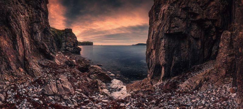 панорама, утро, скалы, камни ***photo preview