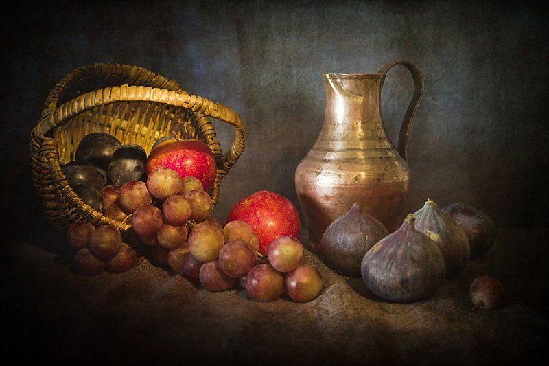 czas na figi i winogronaphoto preview