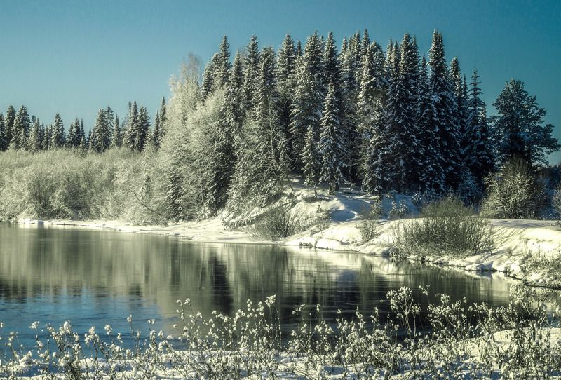 Первый снег.photo preview
