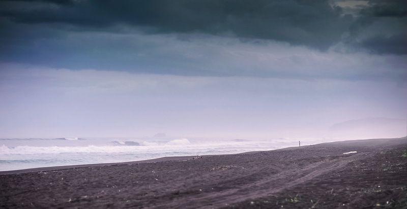 тихий океан, камчатка, халактырский пляж наедине с океаном...photo preview