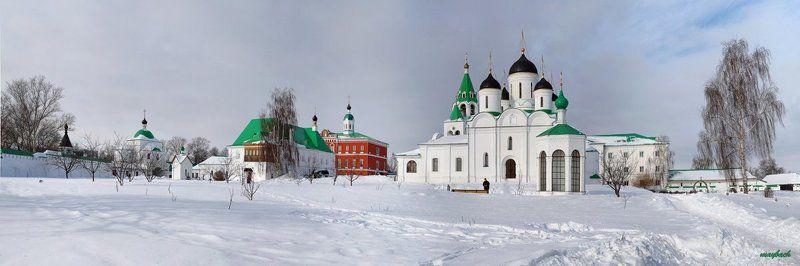 муром, монастырь, зима Муромский Спасо-Преображенский мужской монастырьphoto preview