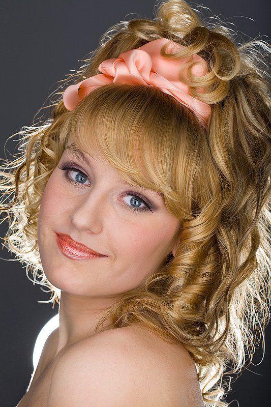 девушка, портрет Облако волос твоих...photo preview