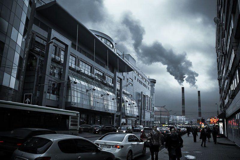 город, будущее Взгляд в будущееphoto preview