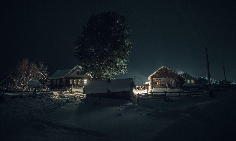 Зима в деревне. Тихо, просто и хорошо.photo preview