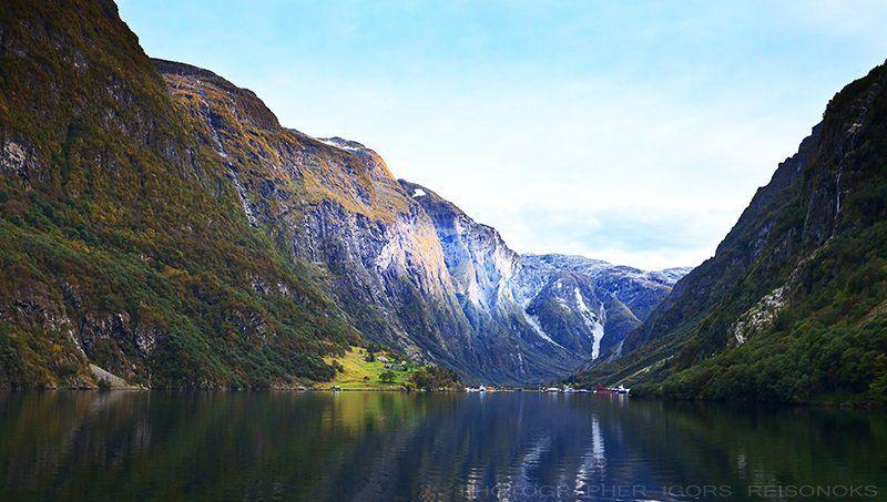 Норвежские фьерды.photo preview