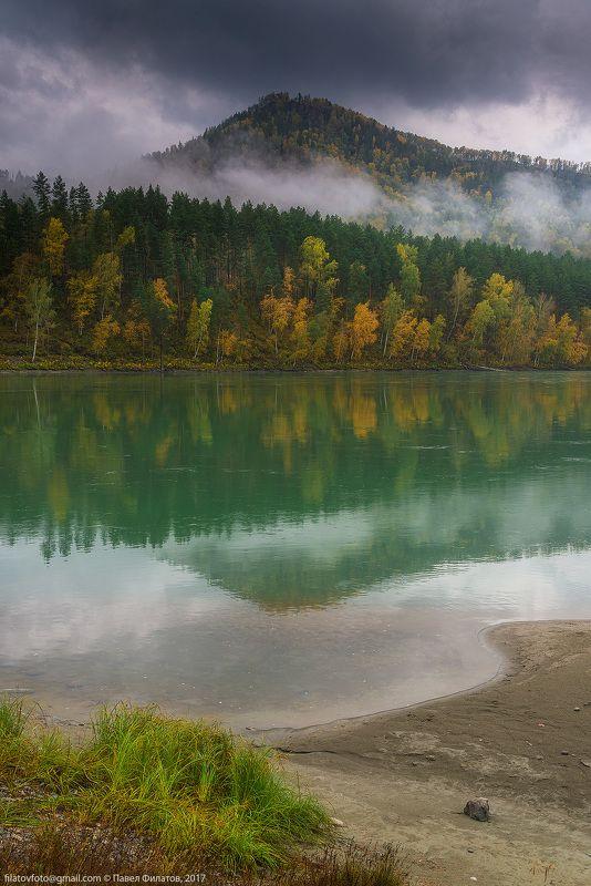 алтай, сибирь, siberia, осень, река, катунь, altai, утро, fall, katun, туман Осенняя Катуньphoto preview