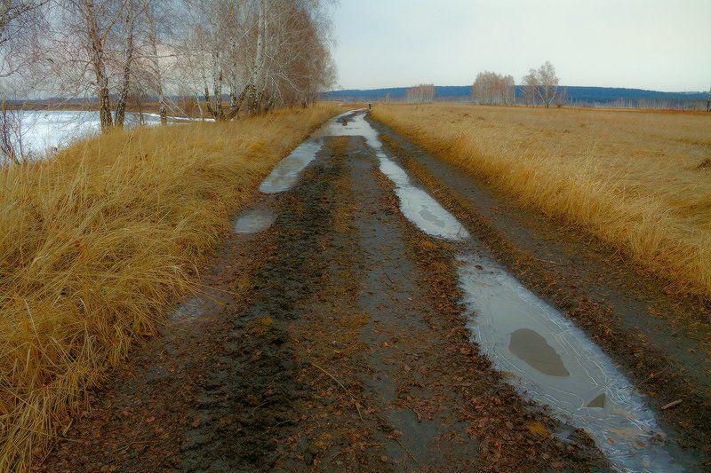 По весенней дорогеphoto preview