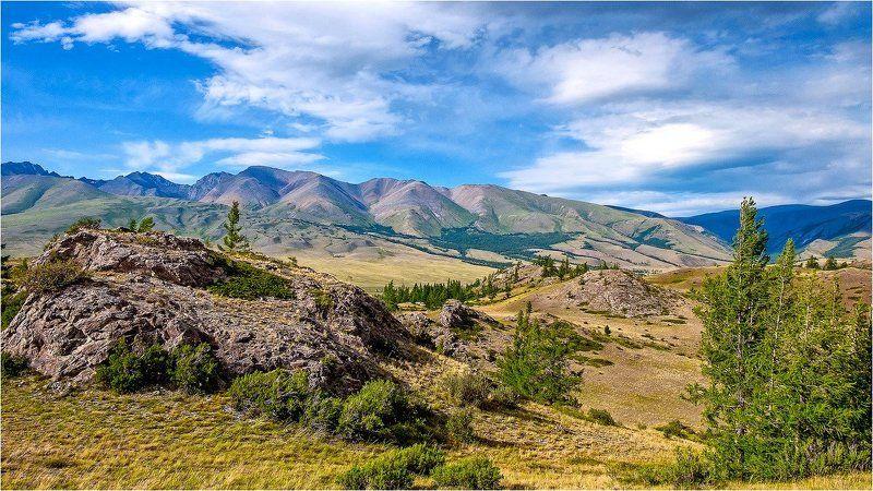 пейзаж, горы, лето, Горнвй Алтай Про Горный Алтай.photo preview
