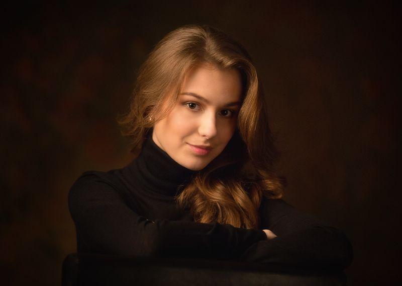 портрет, девушка Марияphoto preview