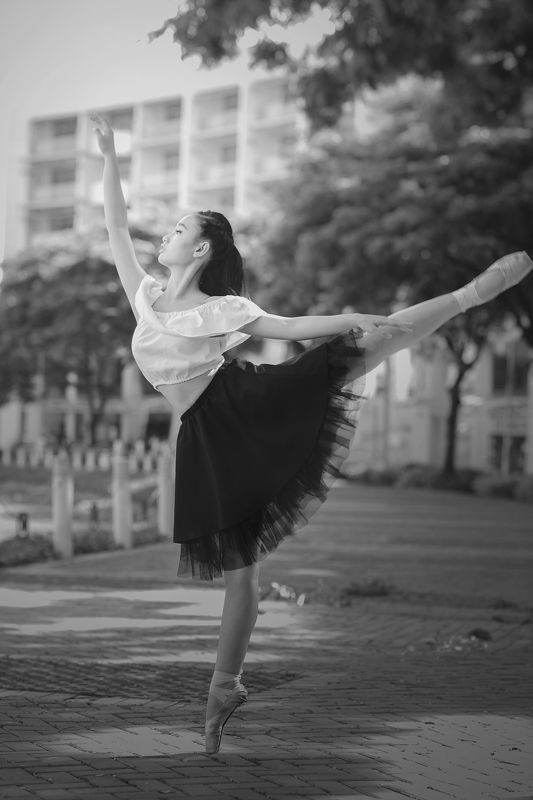 Ballet  Graceful Ballerina.photo preview
